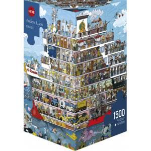 HEYE 29697 Lyon - Kρουαζιέρα Puzzle (1500 pcs)