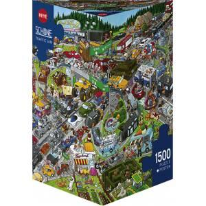 HEYE 29698 Schone - Κυκλοφοριακό κομφούζιο Puzzle (1500 pcs)