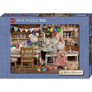 HEYE 29705 Mouse Mansion - Γιορτή Puzzle (500 pcs)