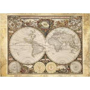 Schmidt 58178 Standard - Ιστορικός χάρτης Puzzle (2000 pcs)