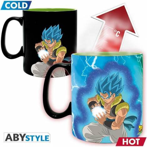 Abysse Dragon Ball Super Broly - Gogeta & Broly 460ml Heat Change Mug (ABYMUG716)