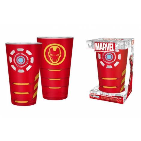 Abysse Marvel - Iron Man 400ml Large Glass (ABYVER136)