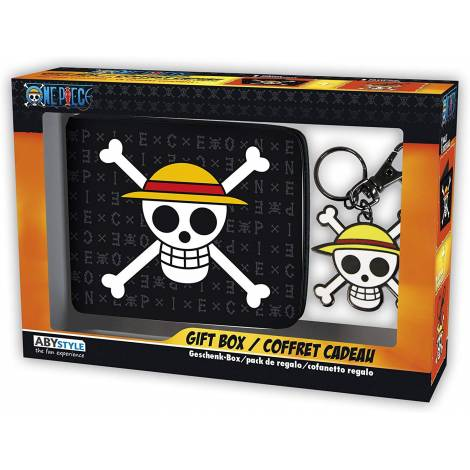 Abysse One Piece - Skull Luffy Wallet + Keychain Giftset (ABYPCK114)