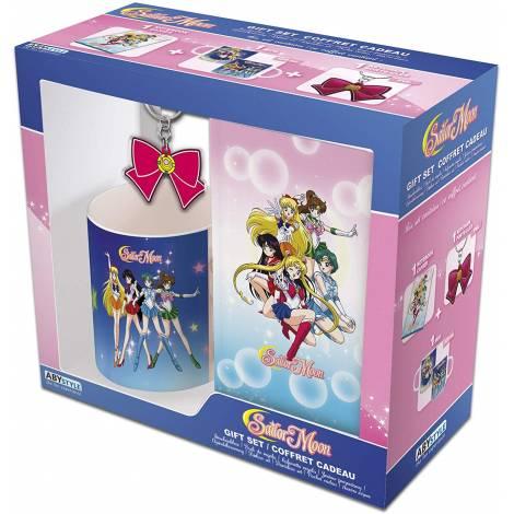 Abysse Sailor Moon - 320ml Mug + Keychain + Notebook Giftset (ABYPCK142)