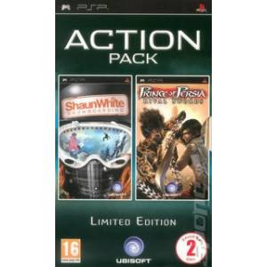 ACTION PACK - SHAUN WHITE SNOWBOARDING + PRINCE OF PERSIA : RIVAL SWORDS (PSP)