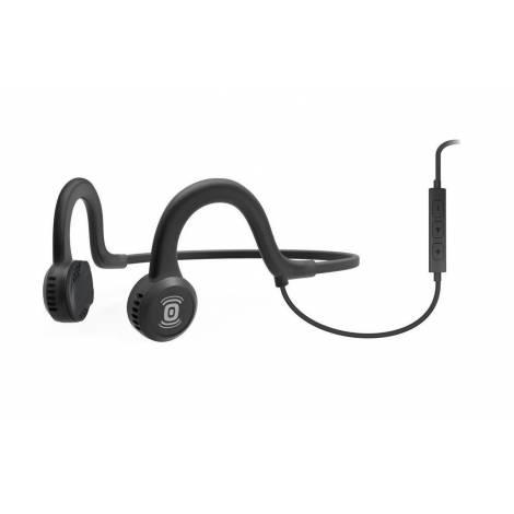 Aftershokz Ακουστικό Παλμικής Μετάδοσης Ήχου Sportz Titanium Onyx Black