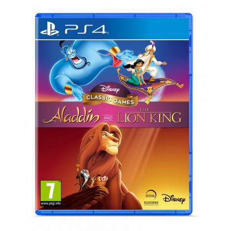 ALADDIN AND  LION KING (PS4)
