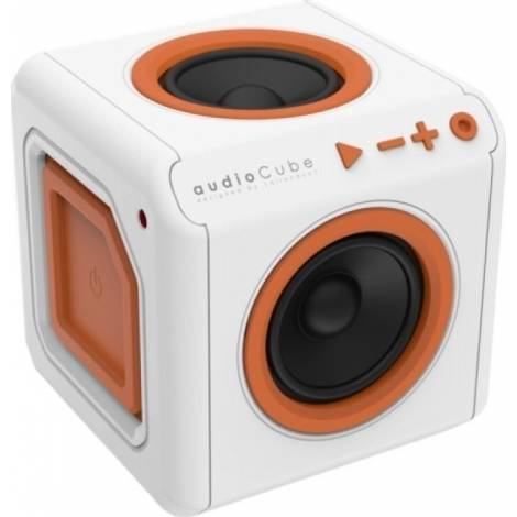 ALLOCACOC audioCube Portable - Φορητό ηχείο - Λευκό