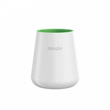 Allocacoc DROPCUP, Unique Handel and Dishwasher Safe (Green)