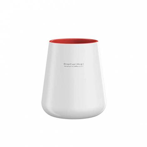 Allocacoc DROPCUP, Unique Handel and Dishwasher Safe (Red)