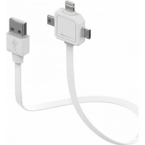 ALLOCACOC Power USB cable - Λευκό