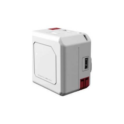 ALLOCACOC PowerΒΑΝΚ - Hub - 4 ports - USB 2.0 & battery 5000 mAh