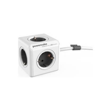 Allocacoc PowerCube Extended 1.5m γκρι