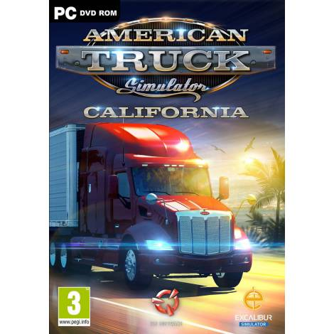 American Truck Simulator California - Steam CD Key (Κωδικός μόνο) (PC)