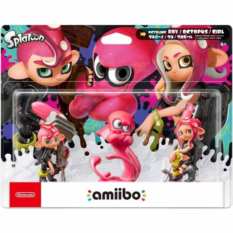 Nintendo Amiibo Splatoon OCTOLING 3-PACK (SPLATOON)