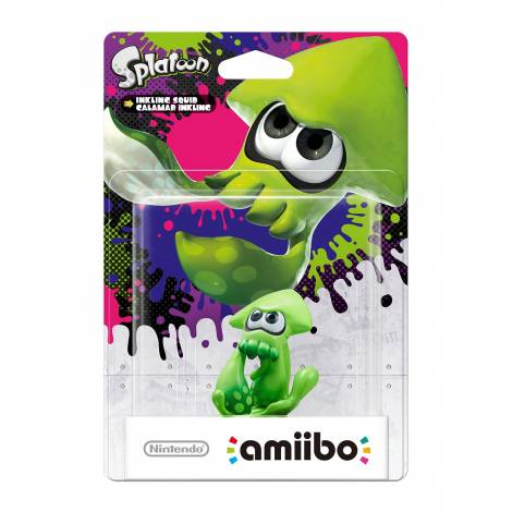Amiibo 'Splatoon' Calamar Inkling