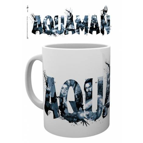 Aquaman - Typography Mug (MG3015)