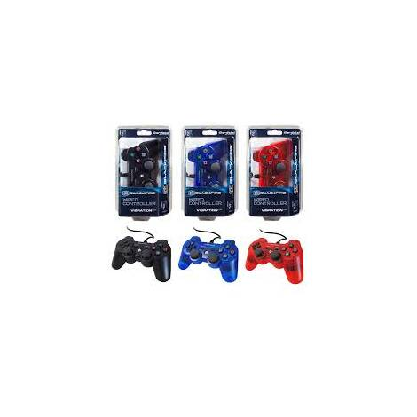 Ardistel Blackfire Dualshock Wired Controller Red For PS3 (PS3)