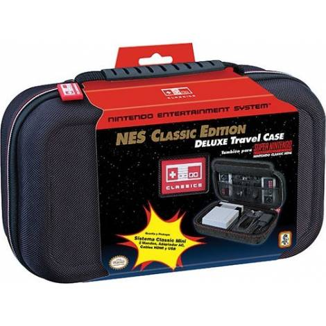 Ardistel Mini SNES/ Mini NES NINTENDO® Licenced Deluxe Travel Case (CL3021)