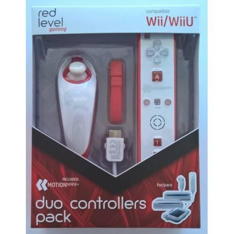 Ardistel Redlevel Remote Controller White - Red (Wii, Wii U)