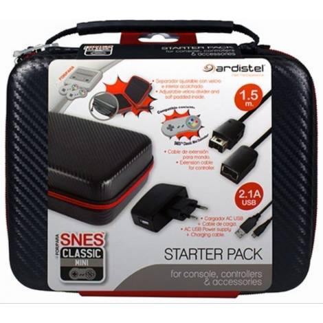 Ardistel Snes Mini Starter Pack (Carrying Case & Accessories)
