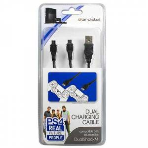 Ardistel Dual USB Charging Cable For Dualshock 4 Controllers 3m. (PS4)