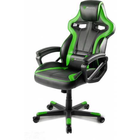 Arozzi Milano Gaming Chair Green (MILANO-GN) και δώρο Turtle Beach Ear Force Recon 50 (TBS-6003-02)
