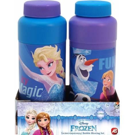 AS Company Σαπουνόφουσκες Διπλο Μεγαλα Μπουκαλακια Frozen (5200-01327)
