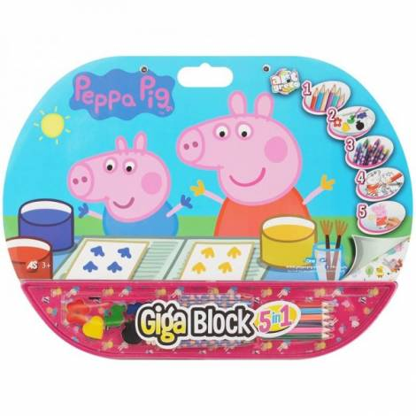 AS Company Giga Block 5 in 1 Peppa Pig (62714) (1023-62714)