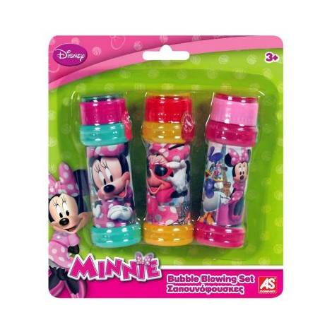 AS COMPANY DISNEY BUBBLE BLOWING SET MINNIE