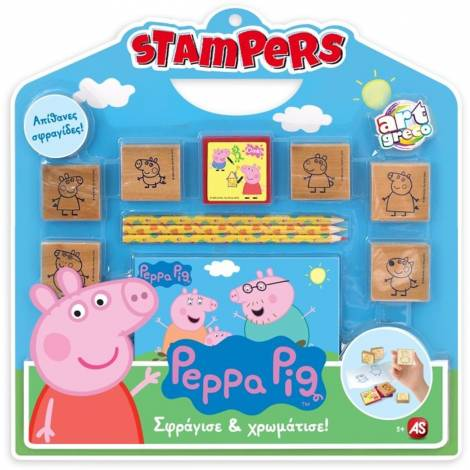 AS Peppa Pig - Stampers Set (1023-63026)