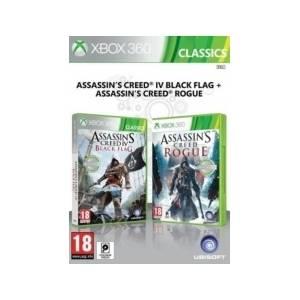 Assassin's Creed: AC 4 Black Flag & AC Rogue (XBOX 360)