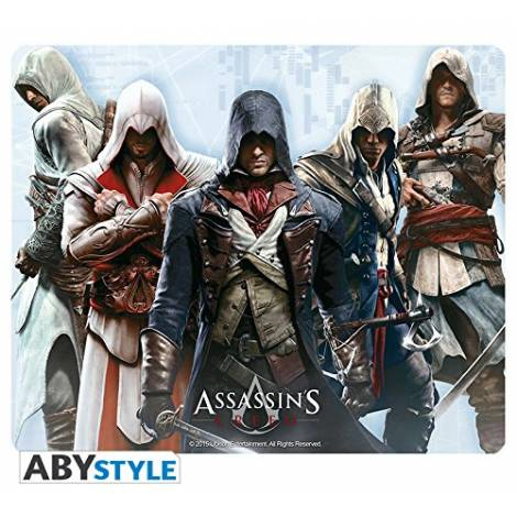 ASSASSIN'S CREED - ALTAIR, EZIO, CONNOR, EDWARD & ARNO GROUP MOUSEPAD (ABYACC182)