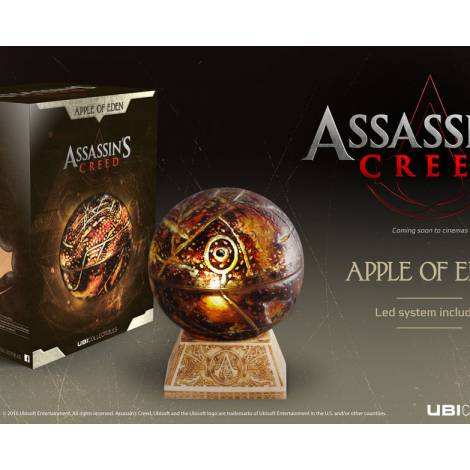 ASSASSIN'S CREED MOVIE APPLE OF EDEN REPLICA LIFESIZE