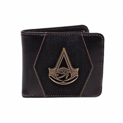 Assassin's Creed Origins Crest Zip Around Bi-Fold Wallet (MW328034ACE)