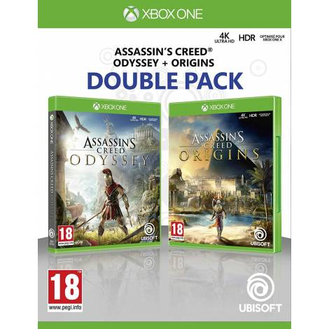 Assassin's Creed Origins + Odyssey Double Pack (Xbox One)