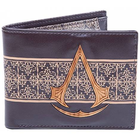 ASSASSIN'S CREED  - WOODEN CREST BIFOLD WALLET (MW070401ACM)