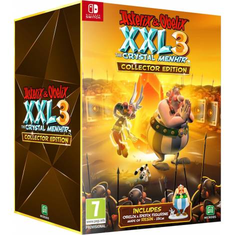 Asterix & Obelix XXL 3 - The Crystal Menhir Collector's Edition (Nintendo Switch)