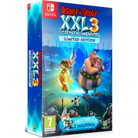 Asterix & Obelix XXL 3 - The Crystal Menhir Limited Edition (Nintendo Switch)