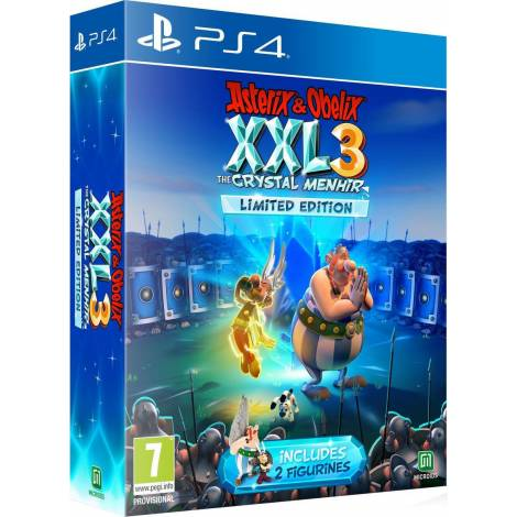 Asterix & Obelix XXL 3 - The Crystal Menhir Limited Edition (PS4)
