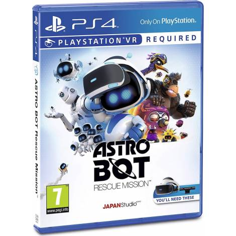 Astro Bot Rescue Mission (PS4) (VR Required)