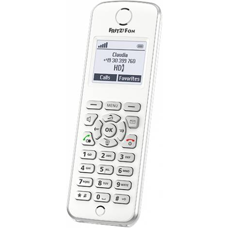 Ασύρματο DECT τηλέφωνο για internet και σταθερή τηλεφωνία AVM FRITZ!Fon M2