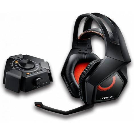 ASUS Strix DSP Gaming Headset with 7.1 Virtual Surround, USB Audio Station for PC/PS4/Xbox/Mac