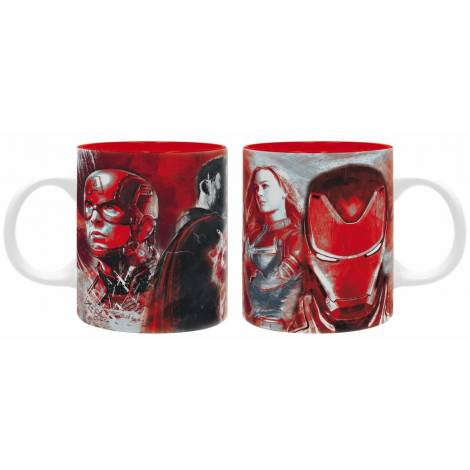 Avengers - Heroes Red 320ml Mug (ABYMUG590)