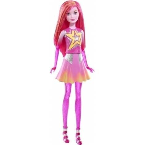Barbie Διδυμες φίλες - Ροζ κούκλα (DLT27)