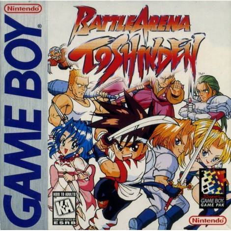 Battle Arena - Toshinden - χωρίς κουτάκι (GAME BOY)