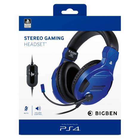 BIG BEN OFFICIAL LICENCE HEADSET V.3 BLUE  (PS4)