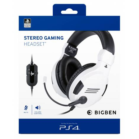 BIG BEN OFFICIAL LICENCE HEADSET V.3 WHITE (PS4)