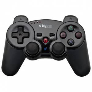 BIG BEN WIRELESS CONTROLLER METAL COLOR - Black (PS3)