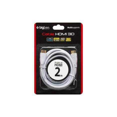 Bigben Interactive HDMI 1.4 Cable HDMI male - HDMI male 2m (PS3) (BB251463)